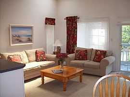 Furnished 2 BR, 2 BA Condo - 1 Mile From Beach