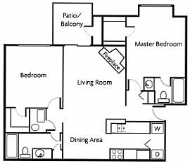 Spacious 2 Bedroom - Luxury Living at Its Best !!!