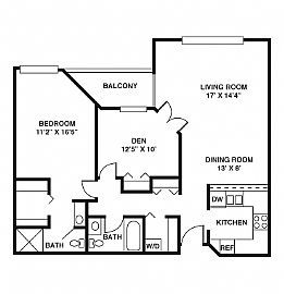 Spacious 2 Bedroom Apartment with 1142 Sq. Ft. - Ready June 1