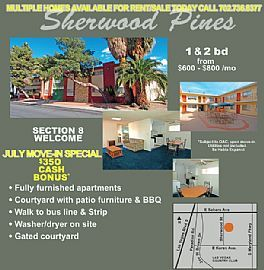 Furnished 2 Bedroom Apartment - Move-In Now - $0 DeposiTS! $350