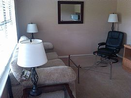 Furnished 1 Bedroom Condo - Downstairs with New Furniture