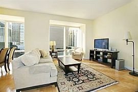 Furnished 1 Bedroom Apartment with Great Service