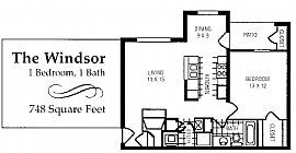 Remarkable 1 Bedroom Apartment - Only Two Left! Hurry In!